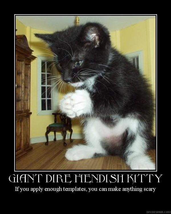 giant fiendish dire kitty